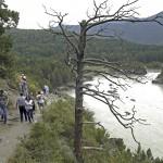 Река Катунь когда-то привлекала только туристов-водников