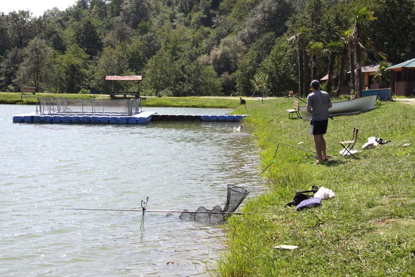 платная рыбалка в адлере на озере