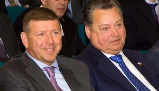аудитор Счётной палаты Российской Федерации Михаил Одинцов и член Совета Федерации Борис Невзоров