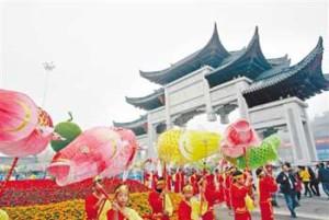 ярмарка в китае