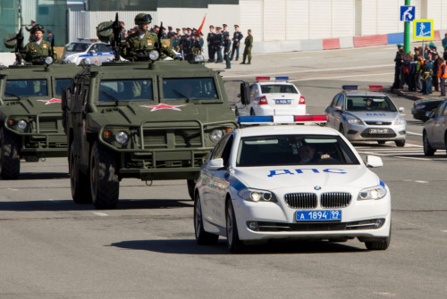 ограничение движения в Москве 9 мая